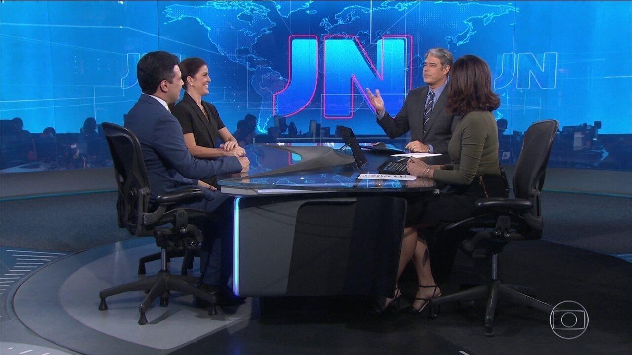 Mariana Gross, do RJ, e Marcelo Magno, do Piauí, apresentam o JN neste sábado (2)
