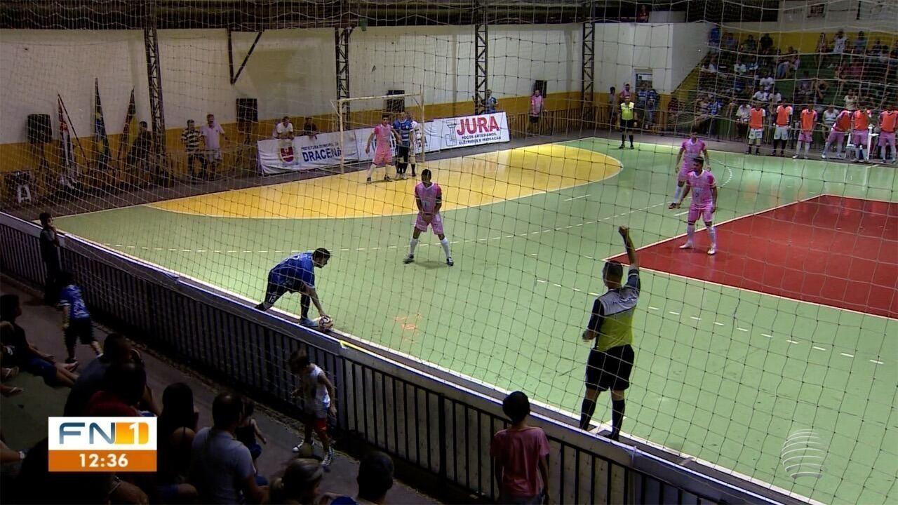 Assista aos gols e entrevistas de Dracena 6 x 3 Taubaté