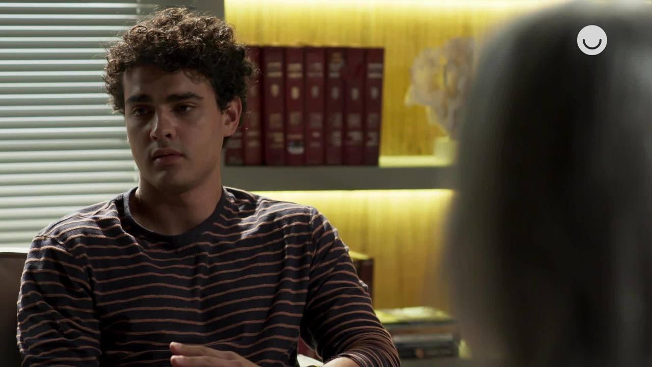 05/11 - Teaser 'Malhação - Toda Forma de Amar: Guga se irrita com Max durante a terapia