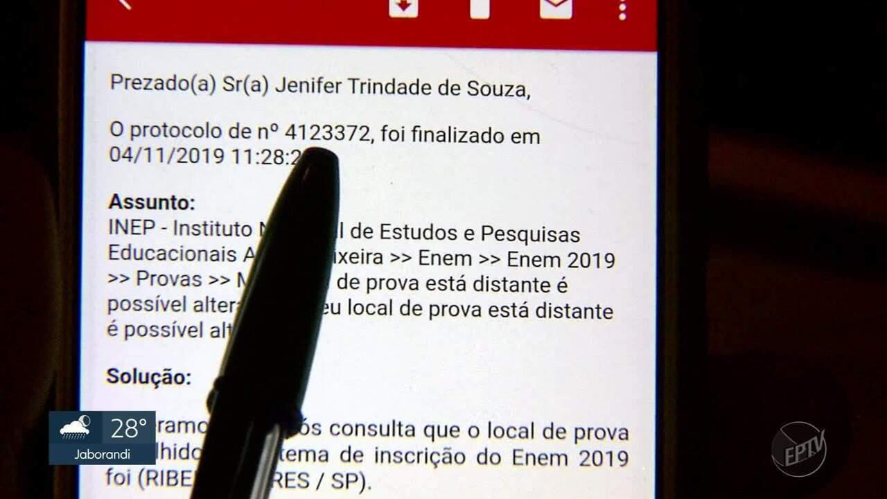 Estudante de Ribeirão Preto alega que perdeu prova do Enem por erro em cartão do Inep