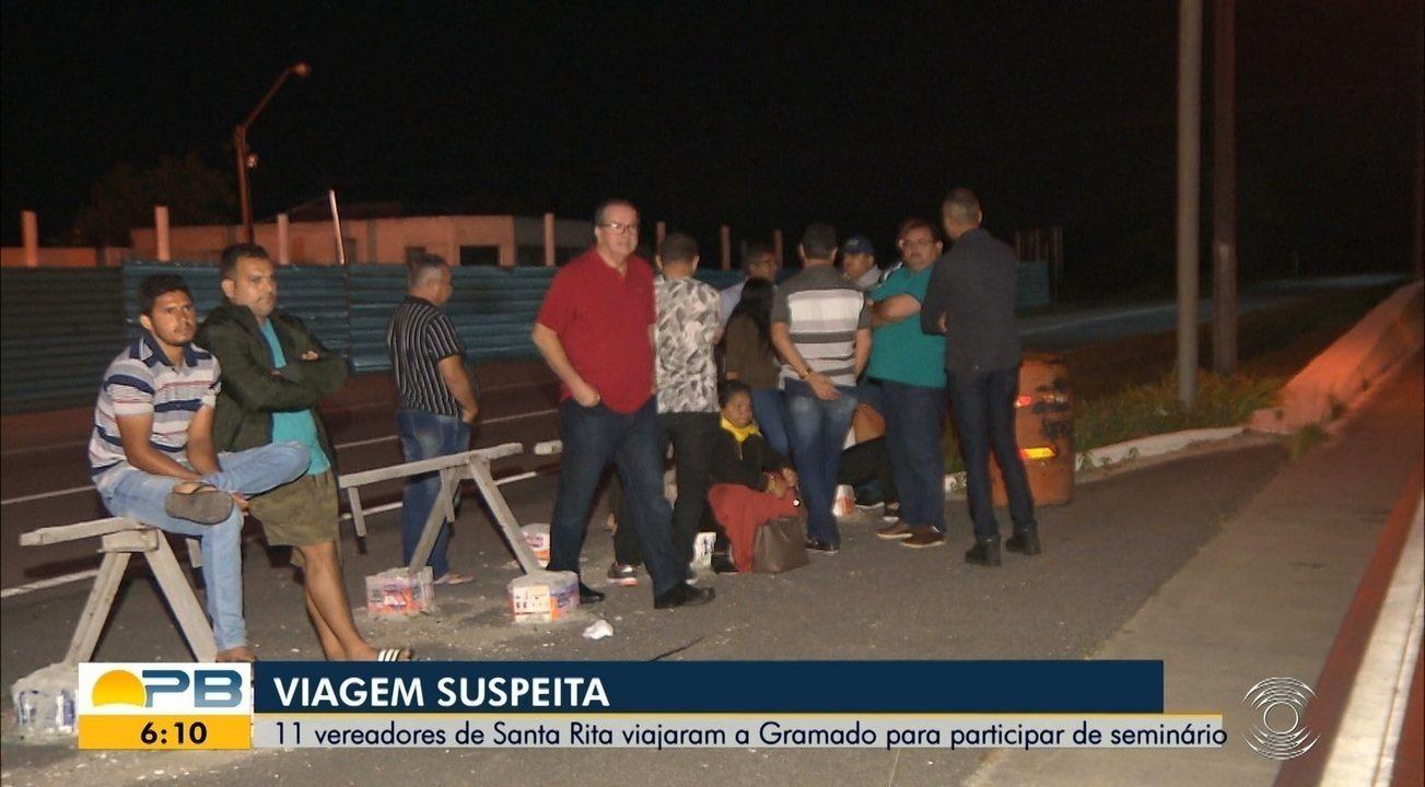 Onze vereadores de Santa Rita, PB, são presos suspeitos de desviar dinheiro público