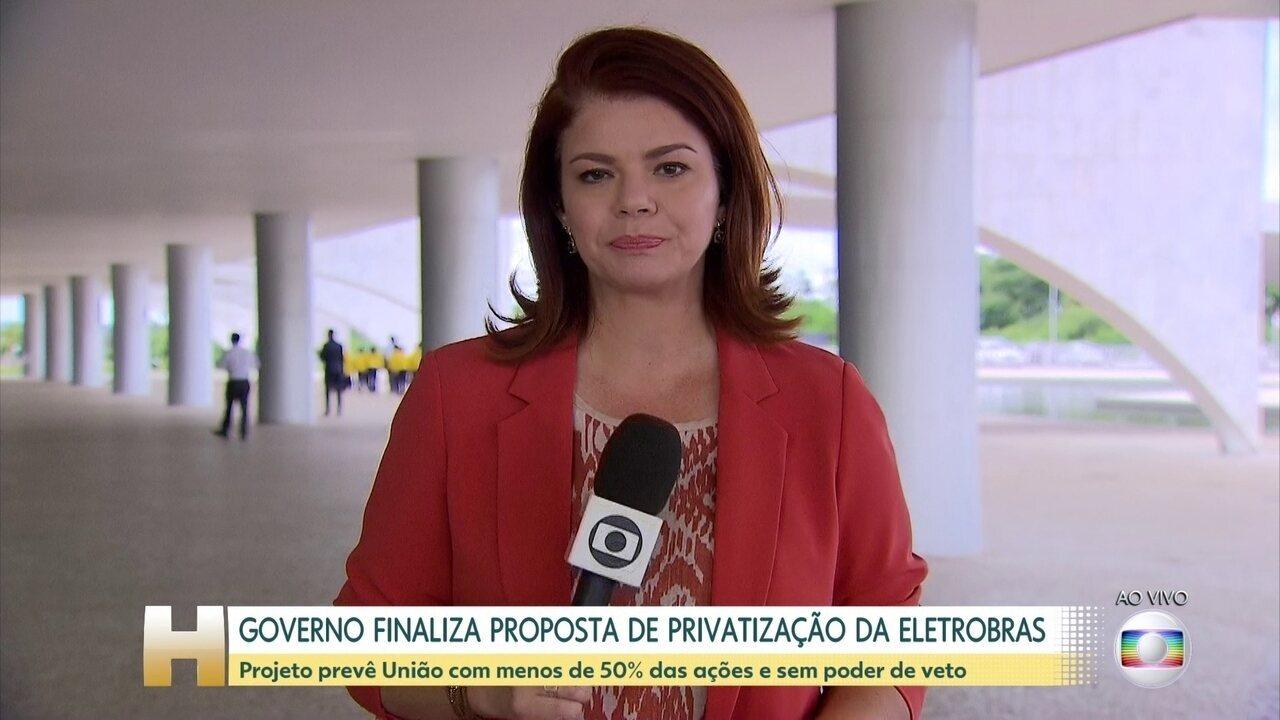 Governo finaliza proposta de privatização da Eletrobras