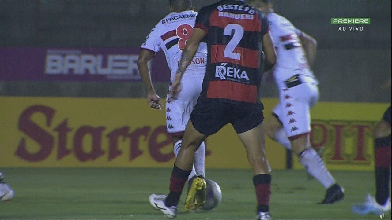 Melhores momentos de Oeste 0 x 2 Botafogo-SP, pelo Campeonato Brasileiro Série B