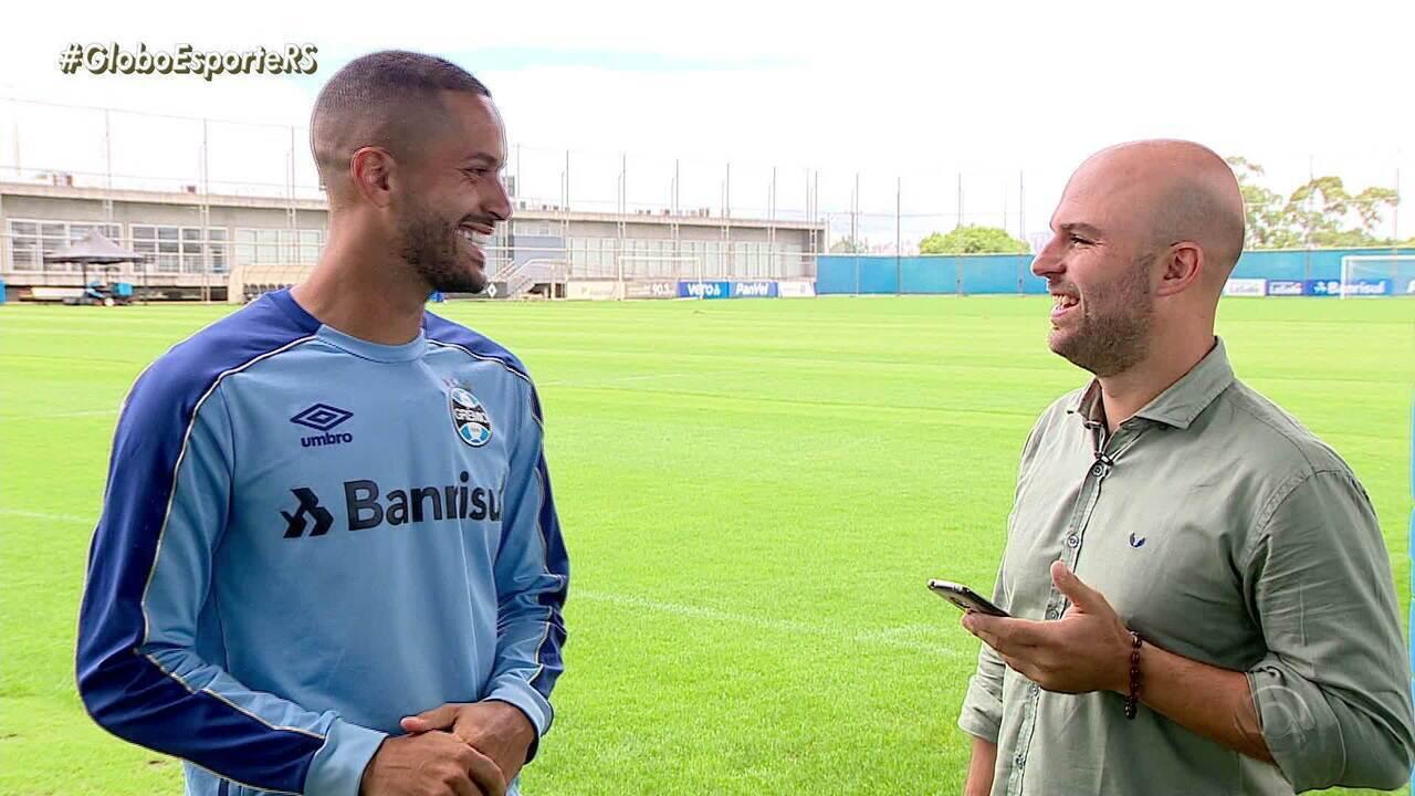 Confira o que Rômulo, meio-campo do Grêmio, tem a ver com o Messi