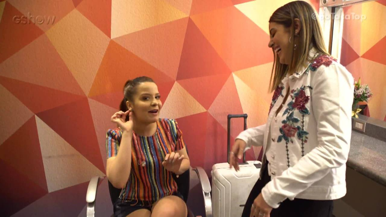 Maiara fala sobre o seu estilo e dos looks do 'SóTocaTop'