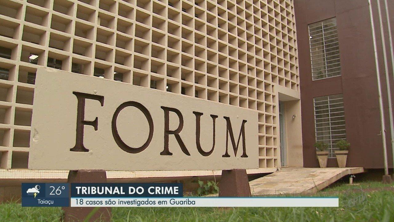 Mulher é acusada de encomendar morte do marido a 'tribunal do crime' em Guariba, SP