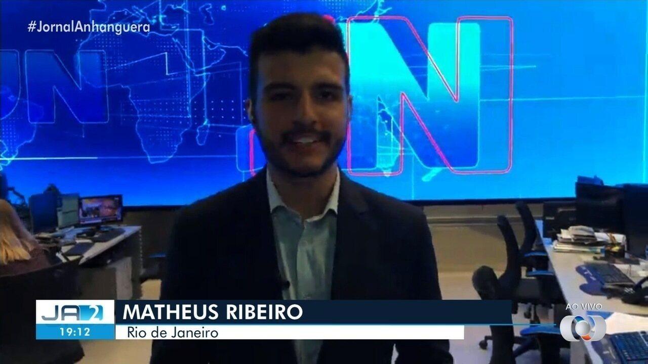 Faltam três dias para o jornalista Matheus Ribeiro apresentar o Jornal Nacional