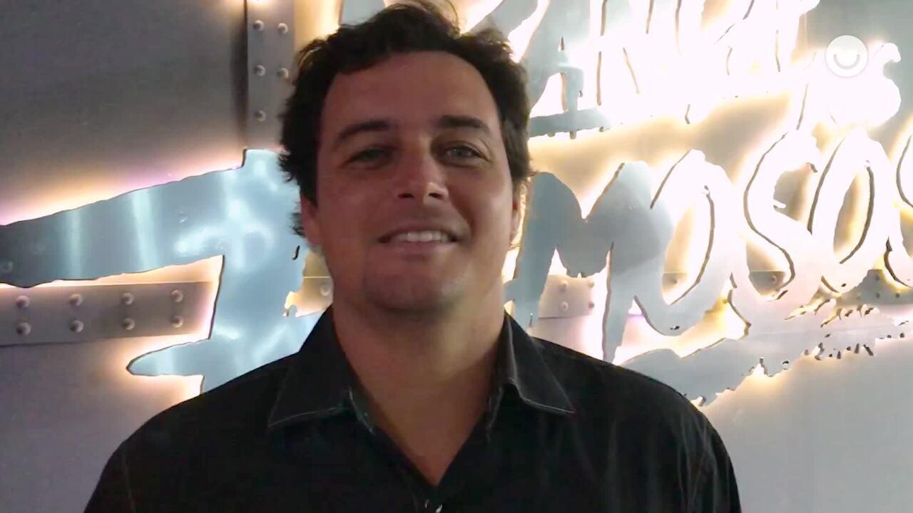 Felipe Dylon volta à casa do 'Dança dos Famosos' 14 anos após sua participação no quadro