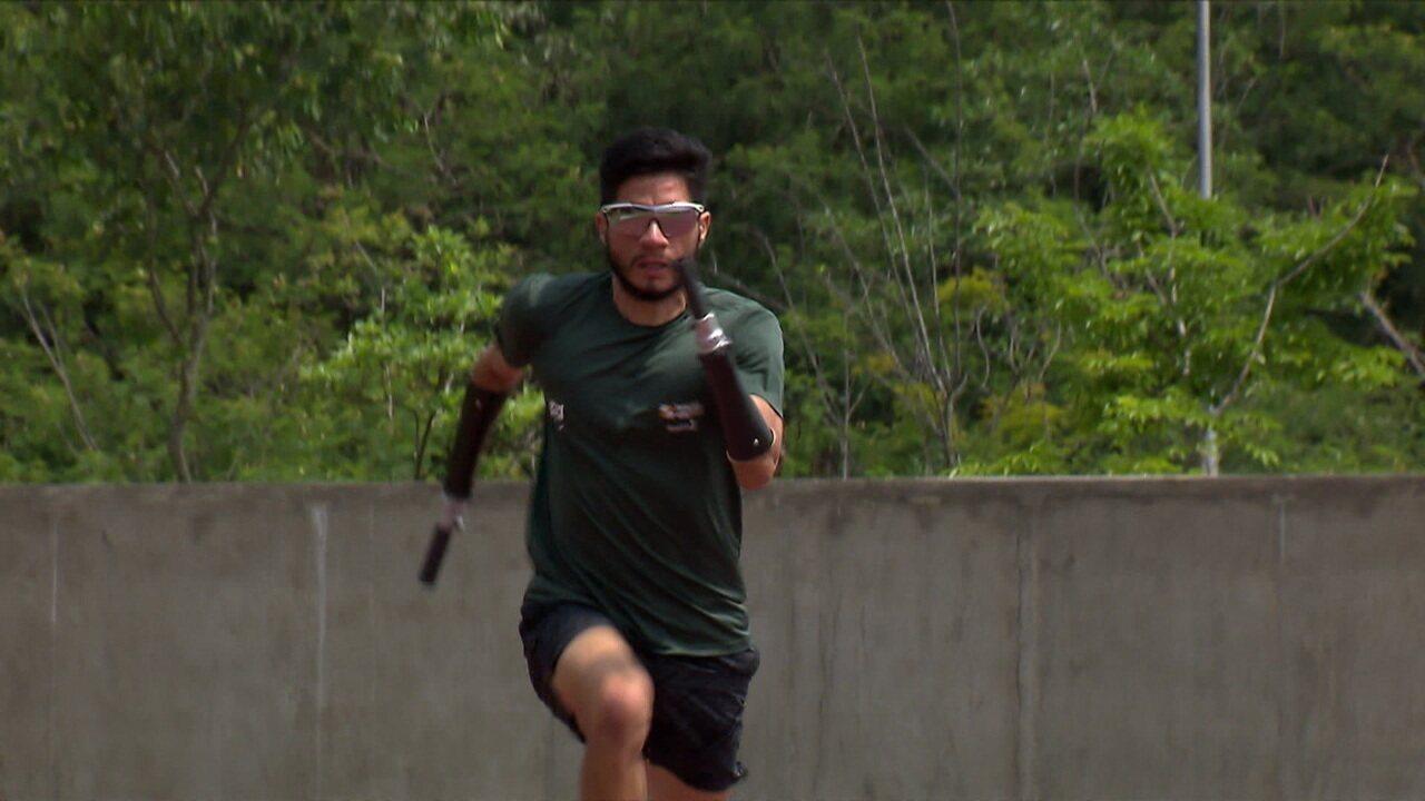 Yohansson Nascimento vai usar prótese exclusiva no Mundial Paralímpico de Atletismo