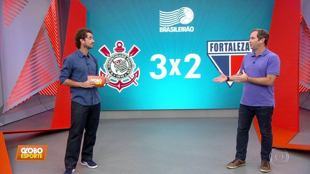 Caio Ribeiro comenta o que mudou para o Corinthians voltar a vencer