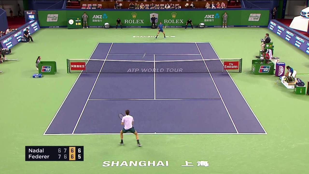 Nadal x Federer - Epic Match Point