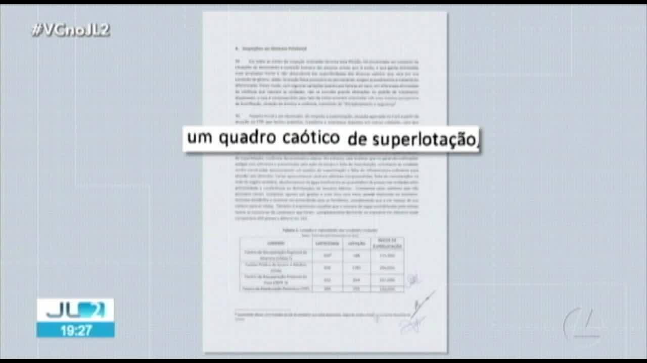 Relatório conclui que intervenção federal atuou de maneira ilegal nos presídios do Pará