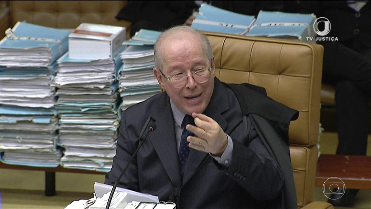 Ministro Celso de Mello vota contra a prisão de condenados em 2ª instância