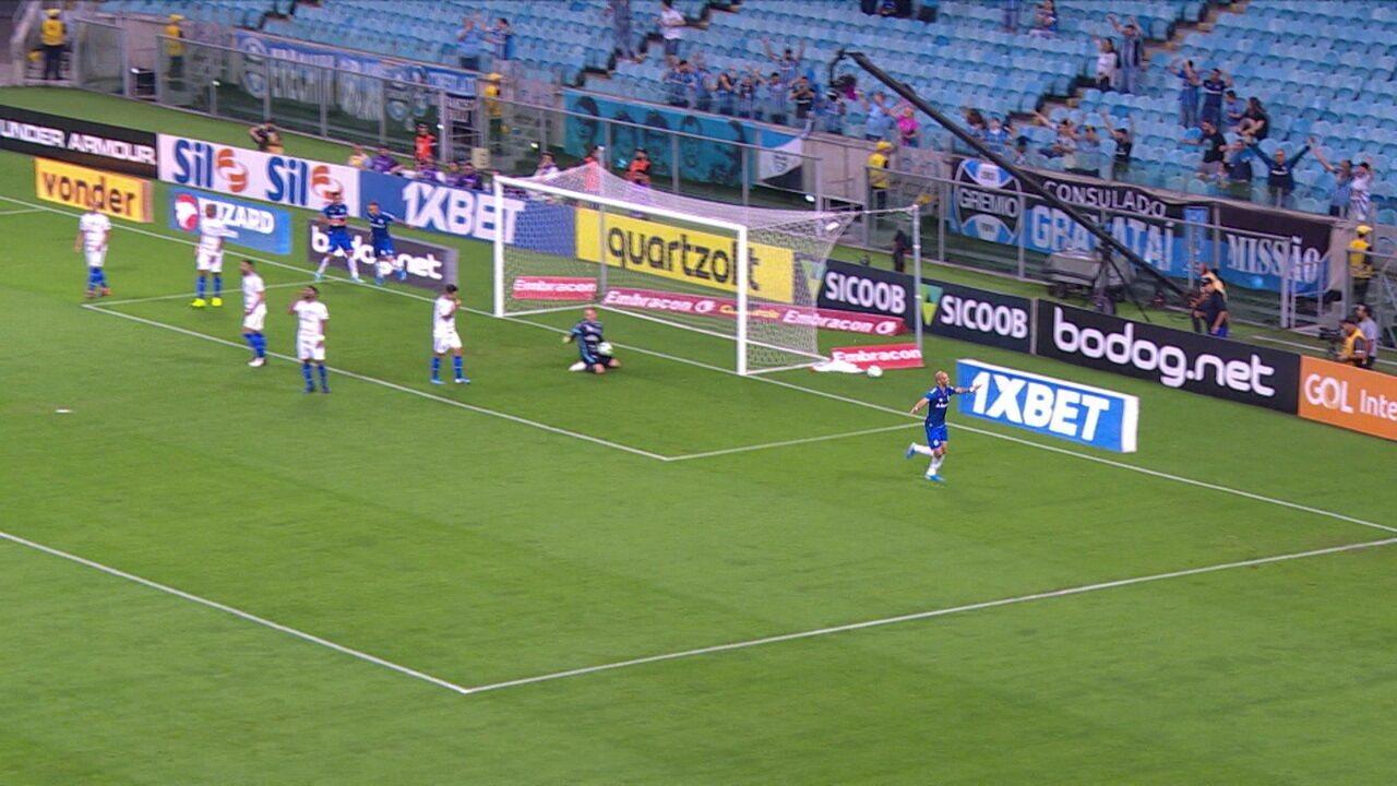 Melhores momentos de Grêmio 2 x 1 CSA pela 31ª rodada do Campeonato Brasileiro