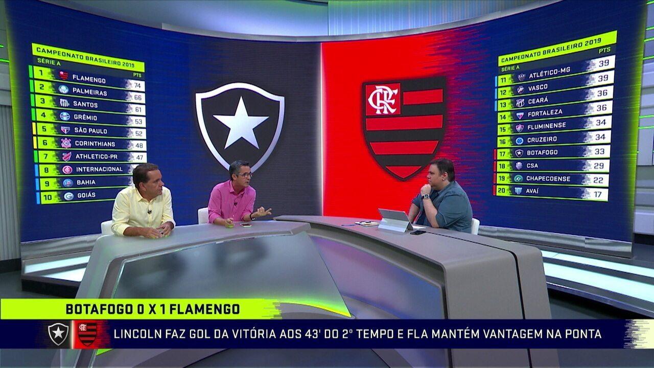 Comentaristas analisam vitória do Flamengo em cima do Botafogo