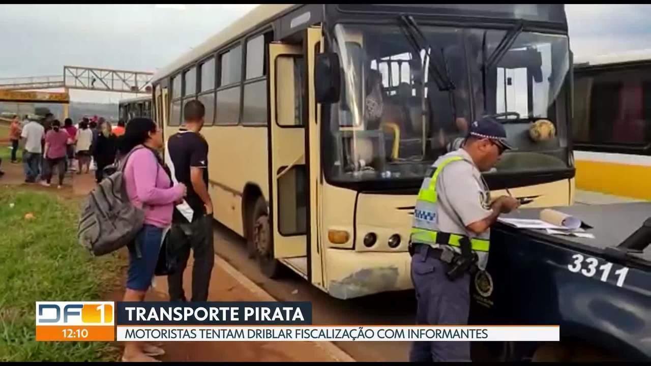 """Informantes """"ajudam"""" motoristas de transporte pirata a driblar fiscalização"""