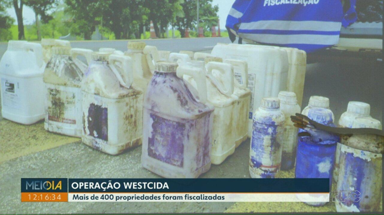 Mais de 10 pessoas são presas em operação contra o uso e venda de agrotóxico