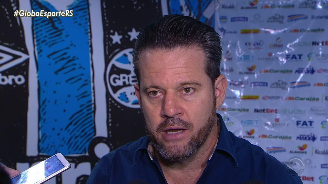 Argel Fucks, técnico do CSA, compara Everton Cebolinha com Cristiano Ronaldo