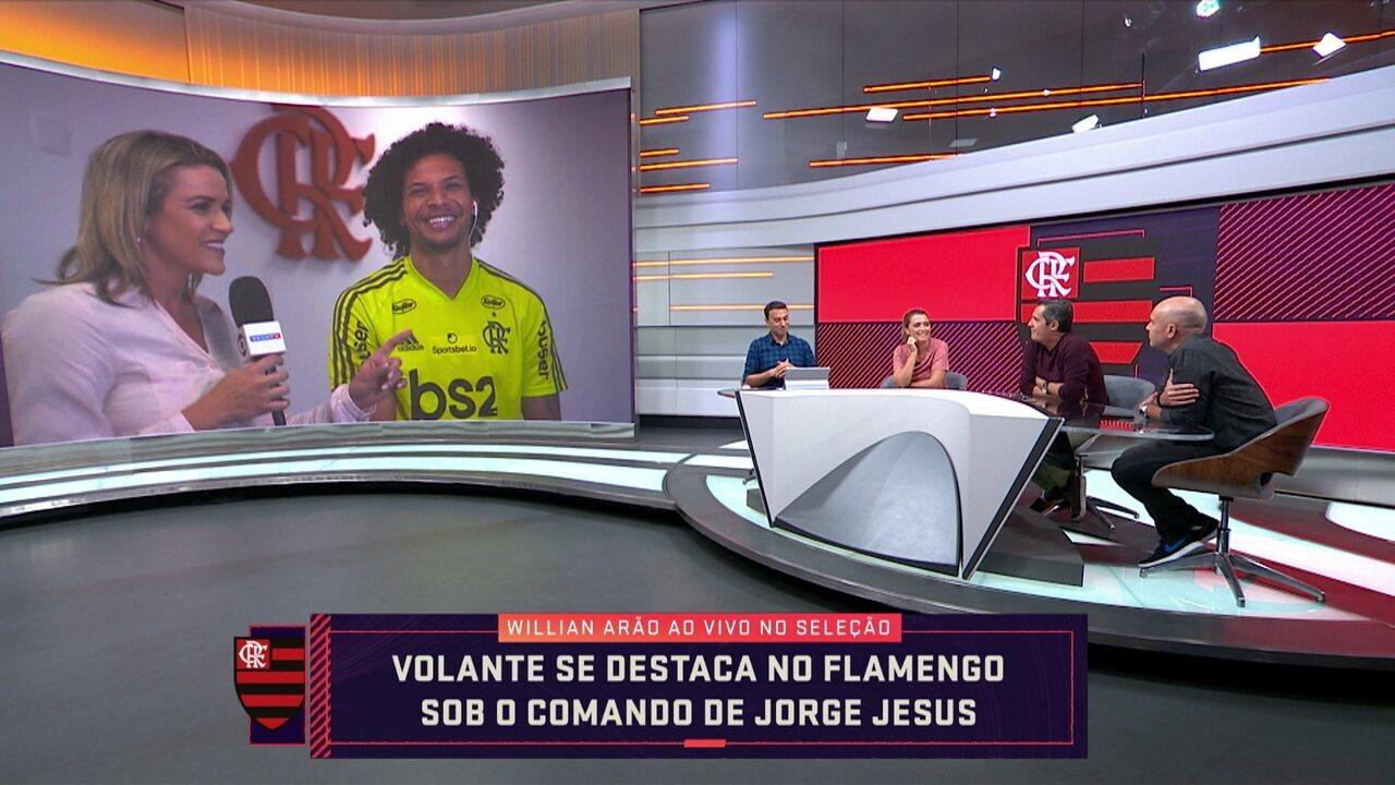 Troca de Passes entrevista Willian Arão