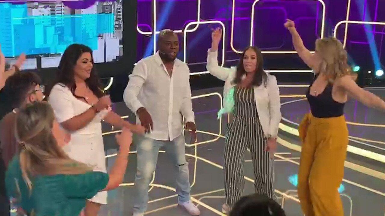 Susana Vieira dança com plateia do Se Joga