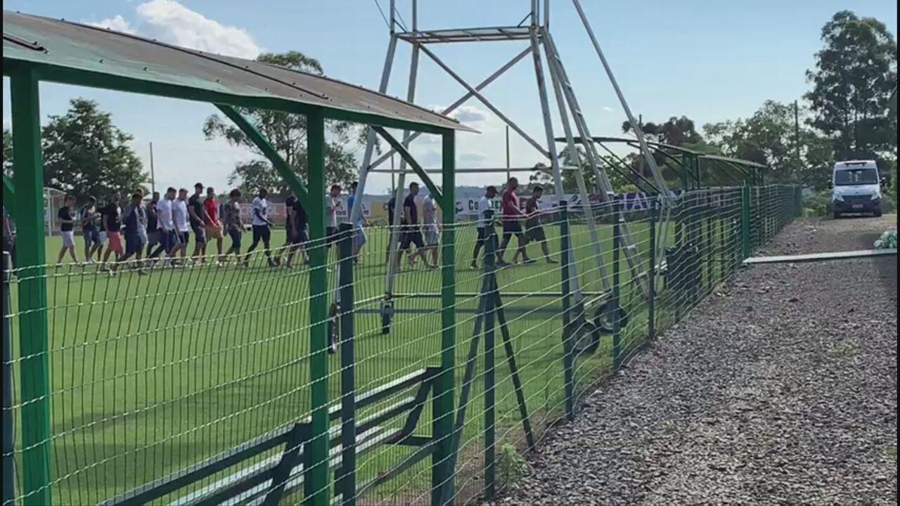 Jogadores da Chape ameaçam não treinar por conta de atrasos salariais