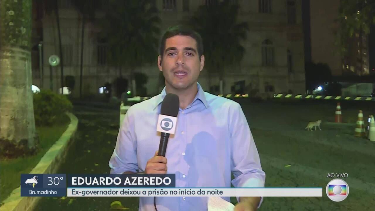 Ex-governador de Minas Eduardo Azeredo é solto nesta sexta-feira (8)