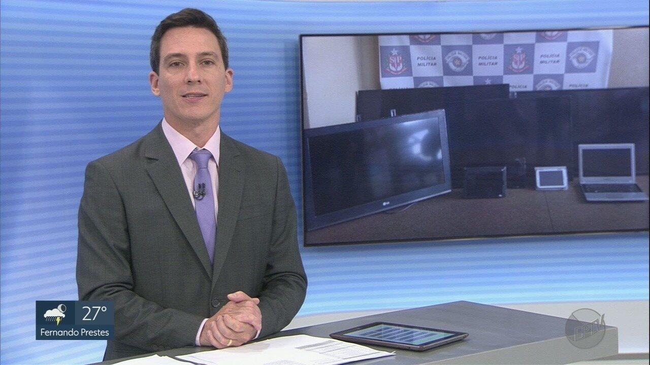 PM recupera objetos furtados da Apae em Pitangueiras, SP