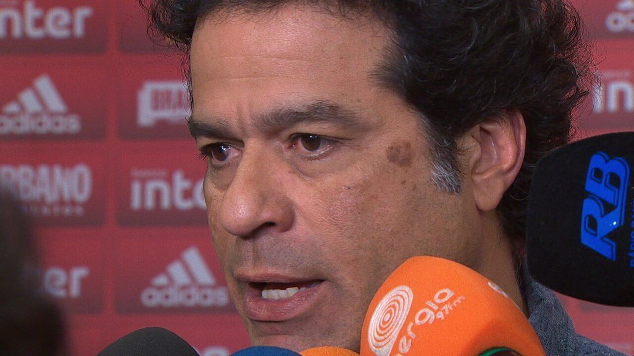Após derrota para o Athletico-PR, Raí fala sobre cobranças internas no São Paulo