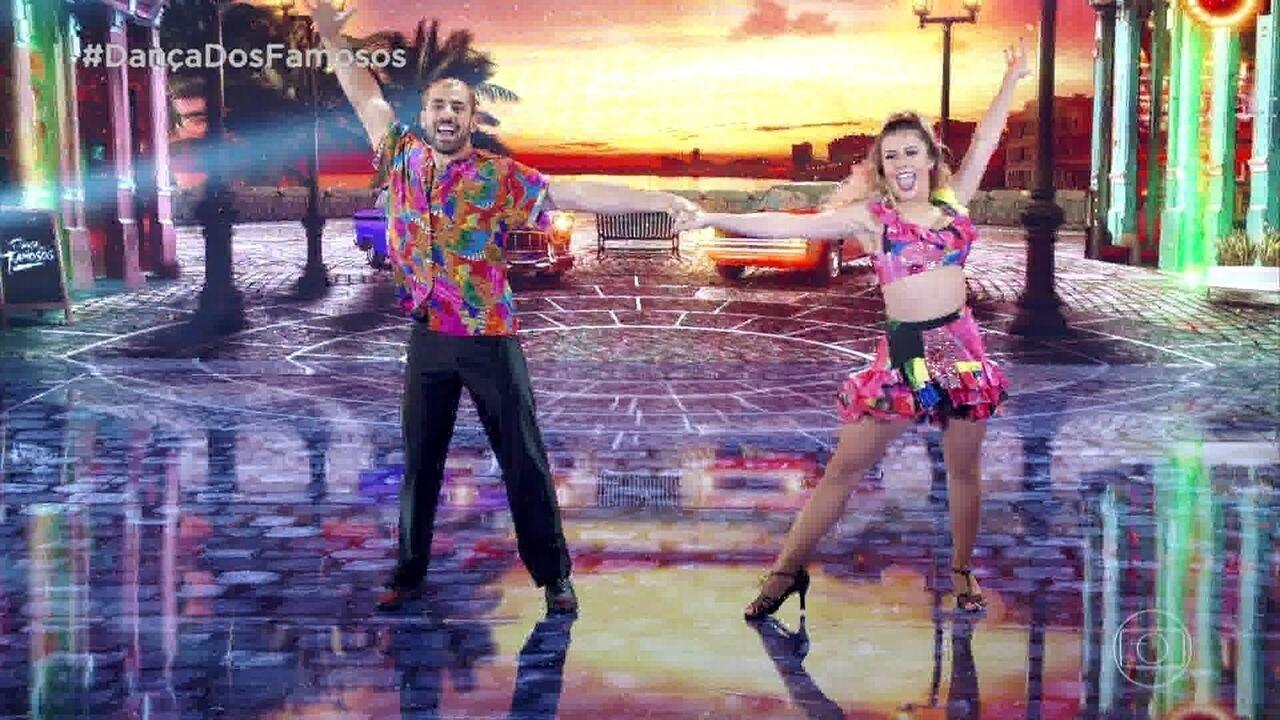 Kaysar Dadour manda bem no 'Dança dos Famosos'