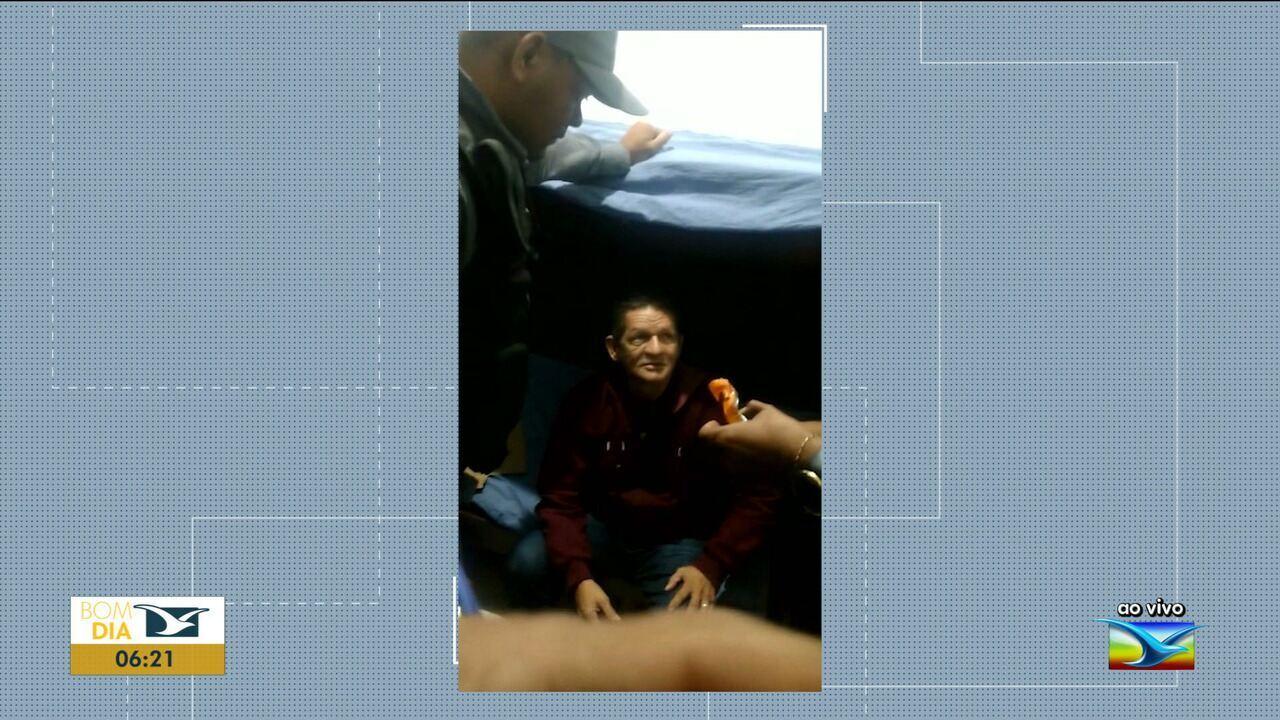 Homem é preso suspeito de dopar passageiros de ônibus no Maranhão