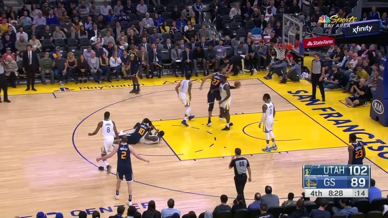 Melhores momentos: Utah Jazz 122 x 108 Golden State Warriors pela NBA