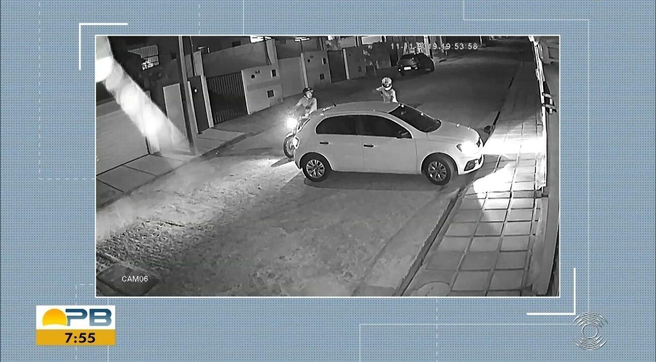 Motorista reage e atira em suspeito durante tentativa de assalto, em Campina Grande