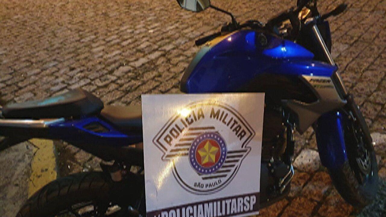 Homem é preso por suspeita de roubar moto em Mogi das Cruzes