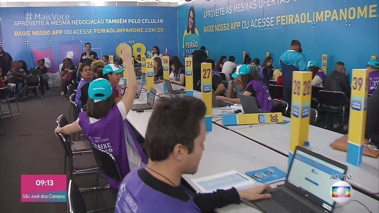 Mutirão renegocia dívidas com descontos de até 90%