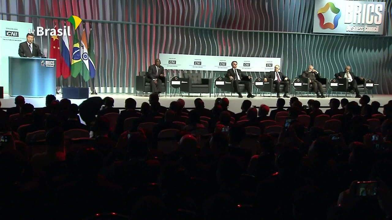 Fórum do Brics reúne líderes mundiais e empresários