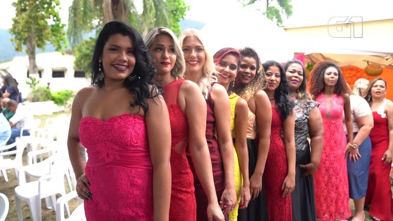 Concurso elege a mais bela presidiária do Rio
