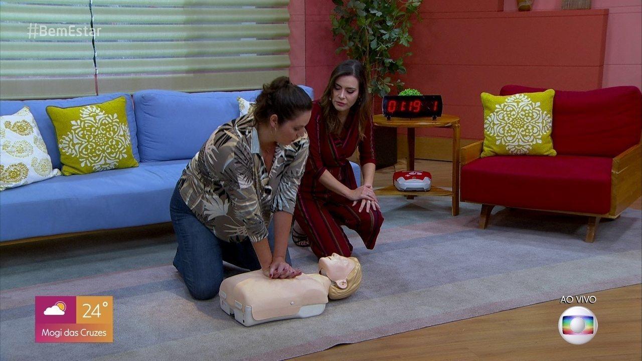 Saiba como fazer a manobra de ressuscitação cardíaca