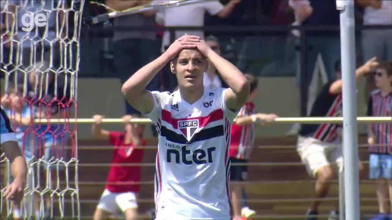São Paulo tem menos gols do que dupla de ataque do Flamengo