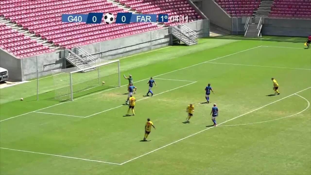 Mirandinha fez o primeiro gol do time