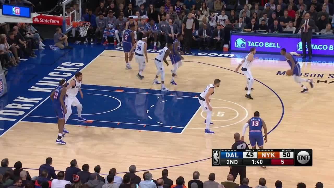 Melhores momentos: New York Knicks 106 x 103 Dallas Mavericks, pela NBA