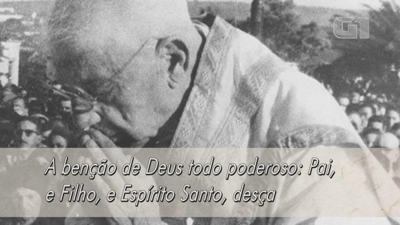 Última benção do padre Donizetti foi gravada e é reproduzida em missas de Tambaú