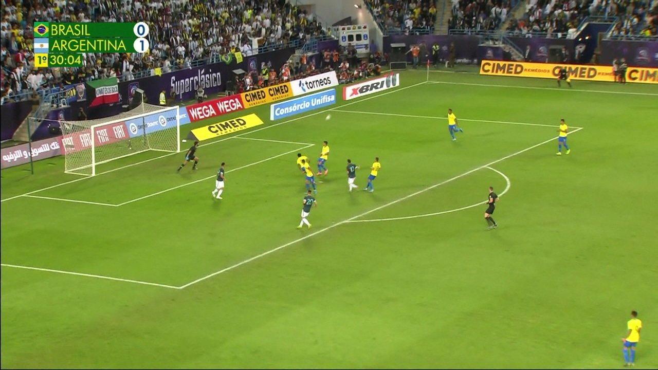 Melhores momentos de Brasil 0 x 1 Argentina em amistoso internacional