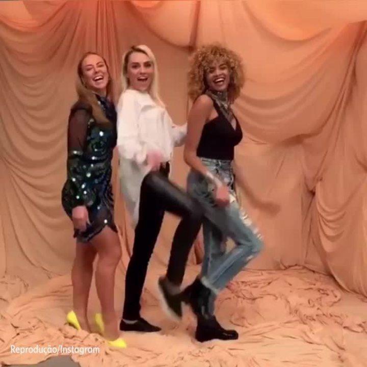 Lucy Ramos se diverte com Paolla Oliveira e Mônica Iozzi, suas companheiras de cena: 'Foi um prazer fazer parte de A Dona do Pedaço'