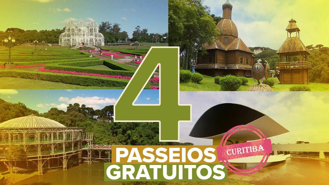 Veja quatro dicas de passeios gratuitos em Curitiba