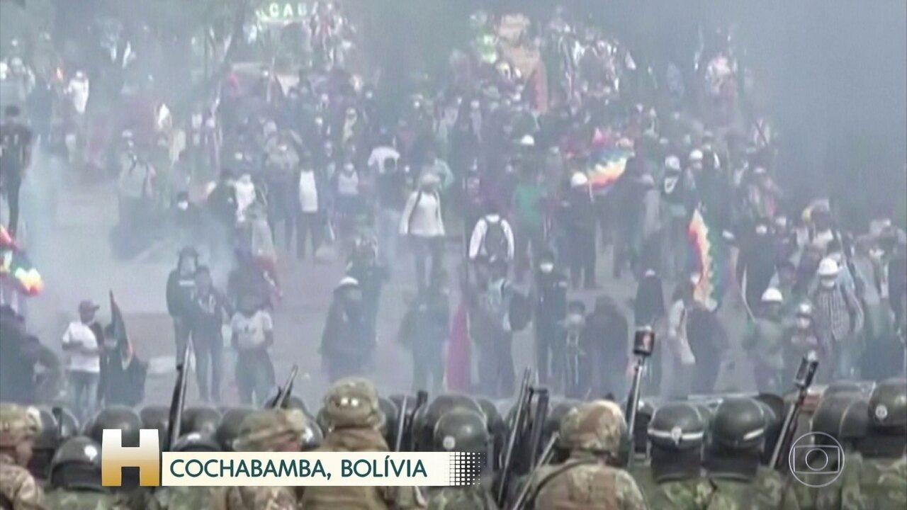 Oito pessoas morrem e mais de cem ficam feridas em confrontos na Bolívia