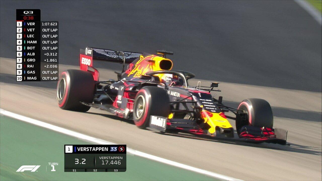 Max Vestappen é o pole position do GP do Brasil de Fórmula 1