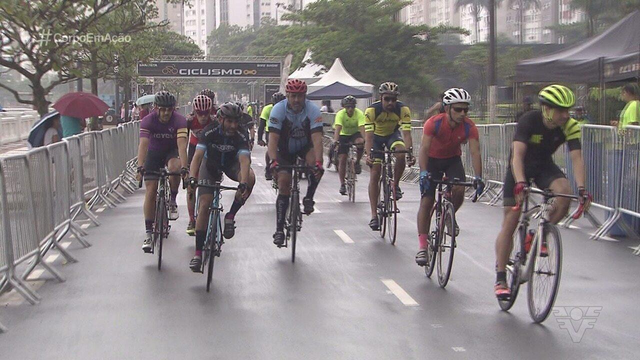 Campeonato Santista de Ciclismo volta a ser disputado na orla após 14 anos