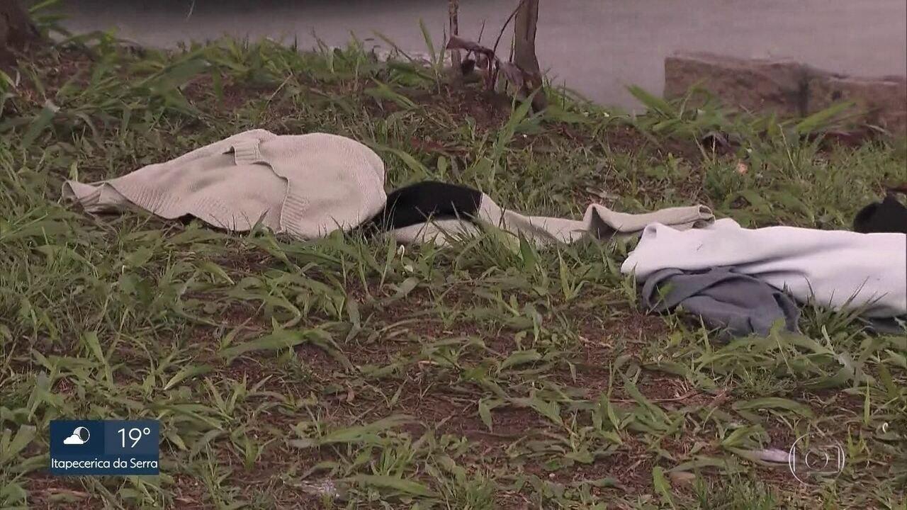 SP2 - Edição de sábado, 16/11/2019 - Quatro moradores de rua morrem com indícios de envenenamento em Barueri. Cresce o número de roubos em parques de SP.