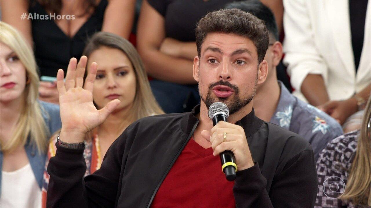 Cauã lembra como foi atuar com Fernanda Montenegro