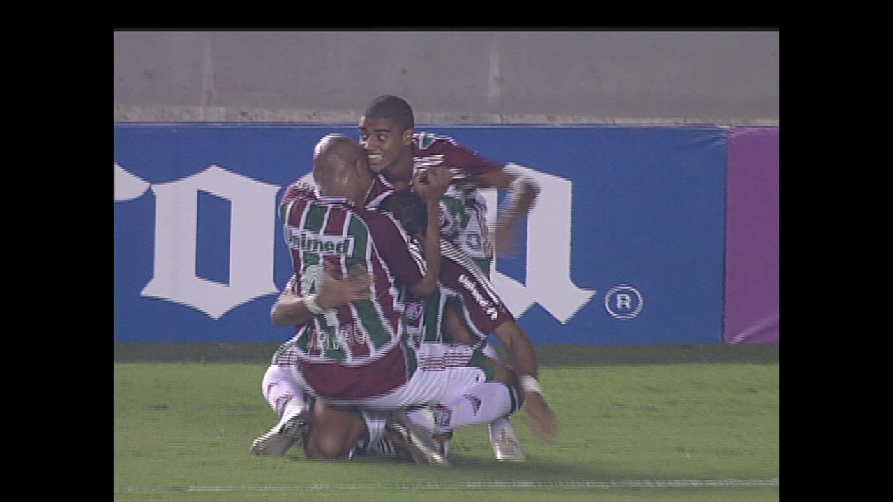 Os gols de Fluminense 3 x 1 São Paulo pela Libertadores de 2008